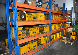 Mould Stock  Area